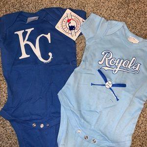 Kansas City Royals Onesies